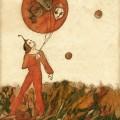 """""""Ballon"""" Encre de Hélène Cardinal"""