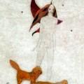"""""""Chats"""" Encre de Hélène Cardinal"""
