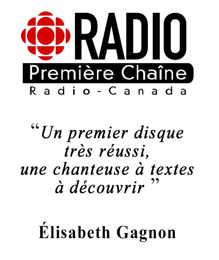 Élisabeth Gagnon de Radio-Canada